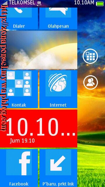 SPB skin Nokia Lumia Windows Phone 7 S60v5 S^3 Anna Nokia Belle